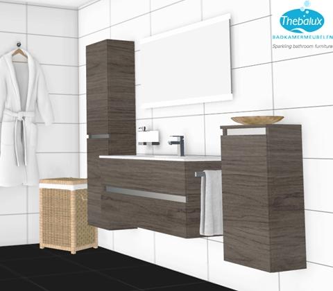 Het laatste nieuws thebalux badkamermeubelen for 3d tekenprogramma
