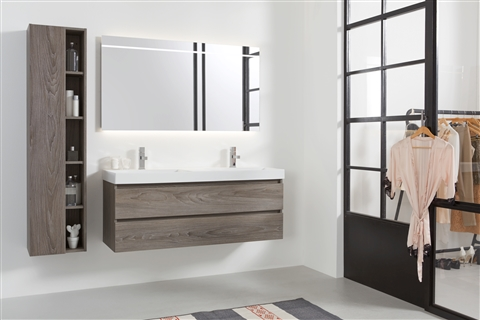 Teakhouten badkamermeubel cm breed de loods meubelen