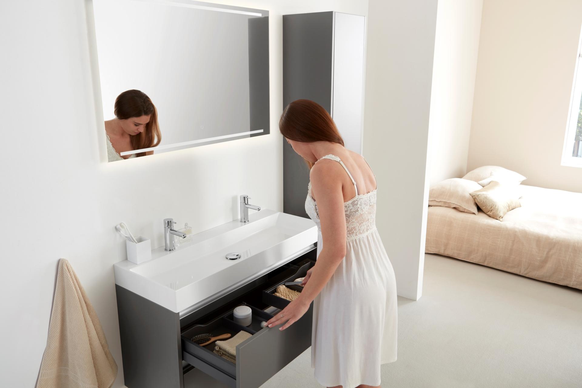 Badkamermeubel cm minimalistische nlfunvit badkamermeubel