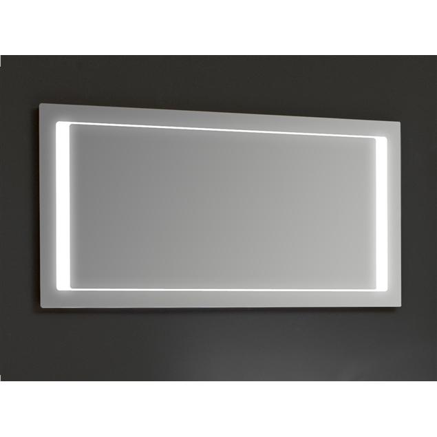 Badkamer spiegel LED LM1300 met licht in spiegel