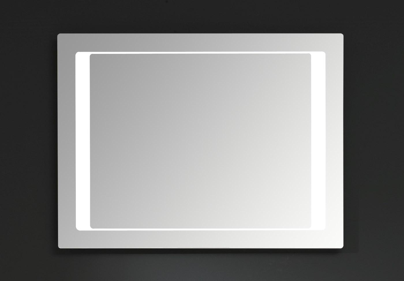 Afmeting Badkamer Spiegel : Badkamer spiegel led lm met led