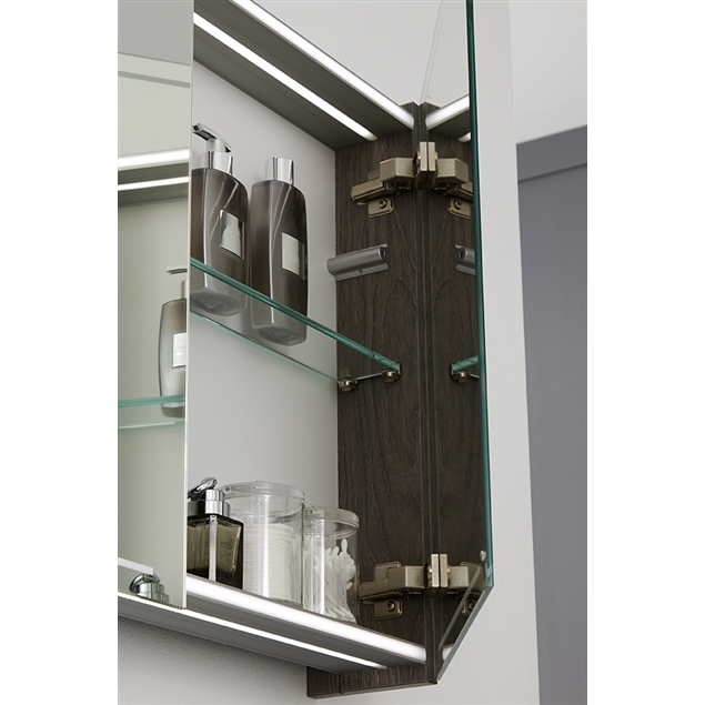 Spiegelkast Badkamer 120 Cm.Spiegelkast Deluxe 120cm Met Led Verlichting