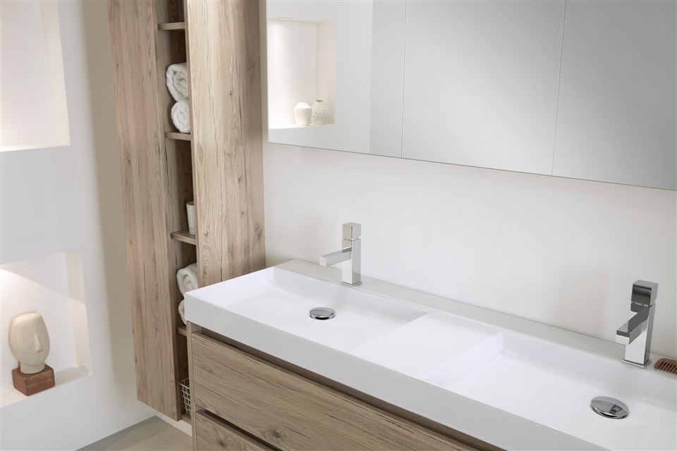 Thebalux Beat 2.0  140 natural oak fresco deur dicht